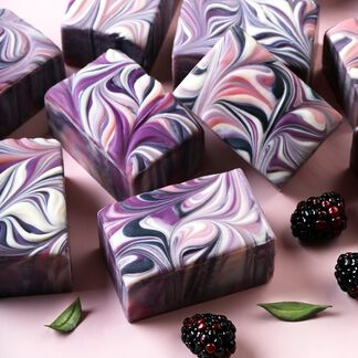 Bramble Swirl Soap Project