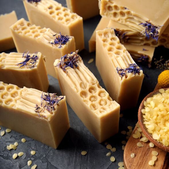 Honeycomb Soap Project