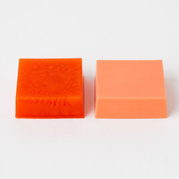 Sunset Orange Color Block - 1 Block