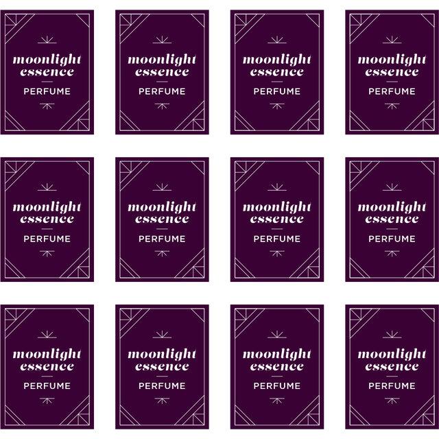 Moonlight Perfume Digital Label