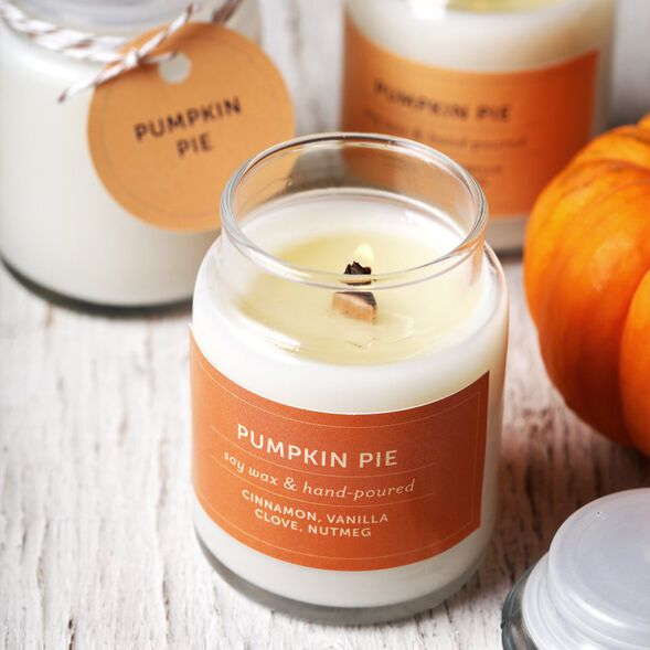 Pumpkin Pie Candle Project