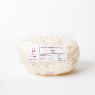 Grated Rebatch Soap - Luxury - 1 lb