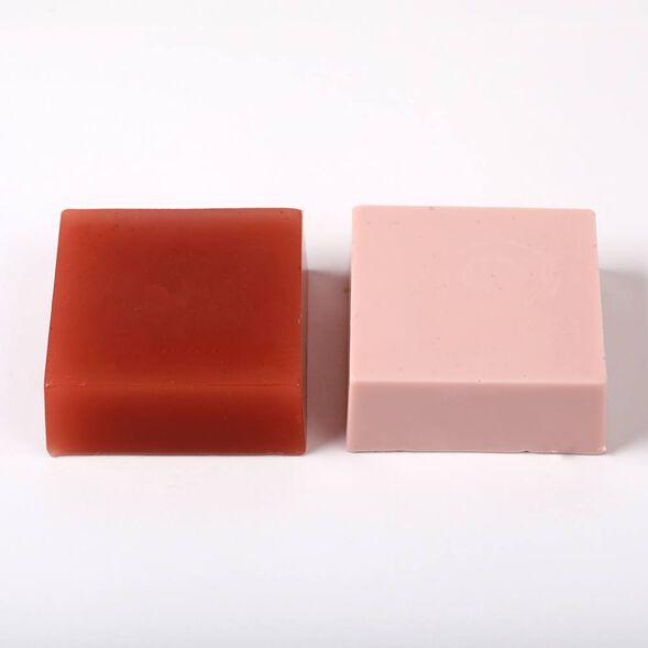 Rose Clay Color Block - 1 Block