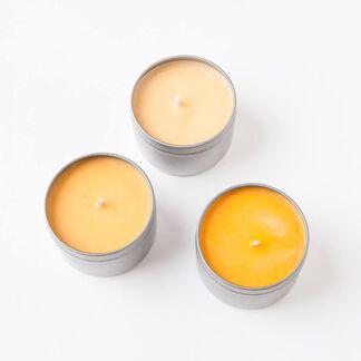 Melon Orange Candle Dye Flakes - 1 oz