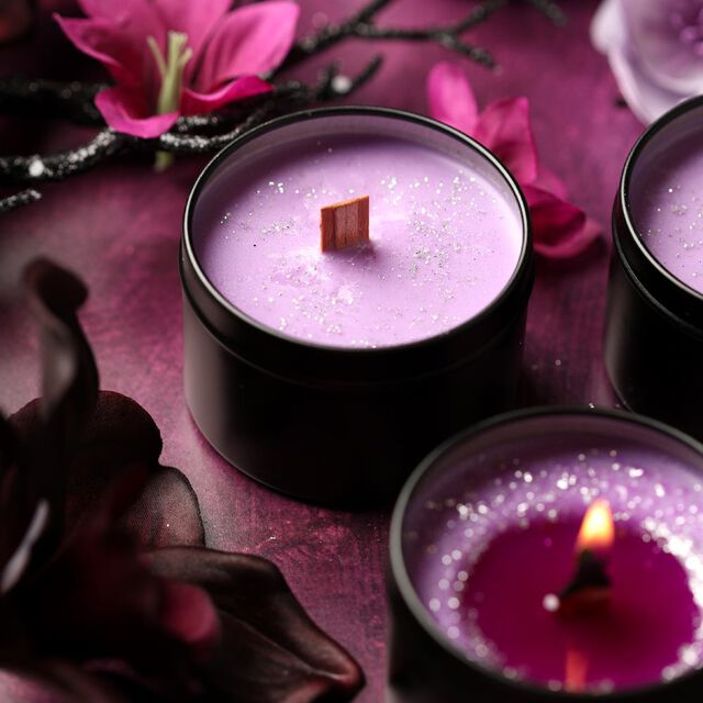 Bewitched Orchid Candle Project
