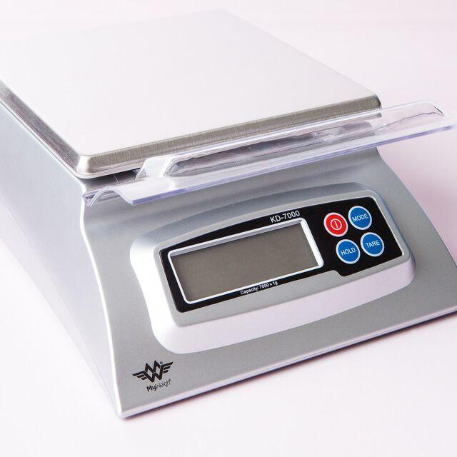 KD7000 SCALE SILVER 7 kg/15.4lb