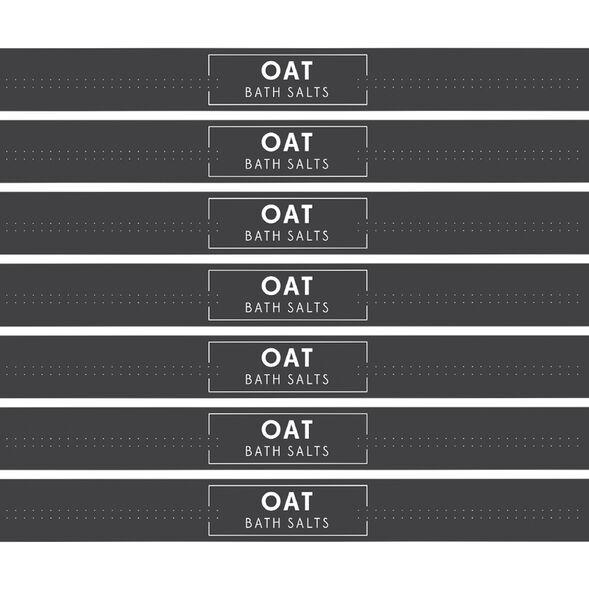 Soothing Oat Salts Digital Label