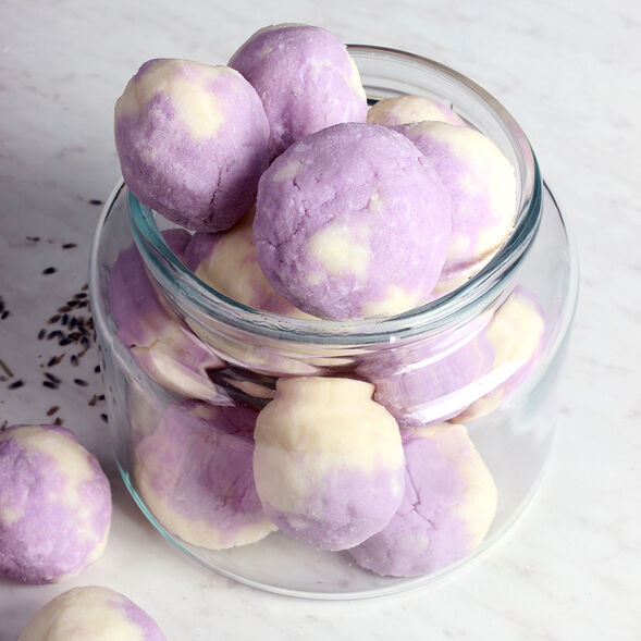 Lavender Bath Truffle Project