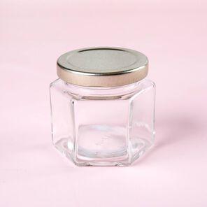 4 oz Hexagon Jar - 1 Jar