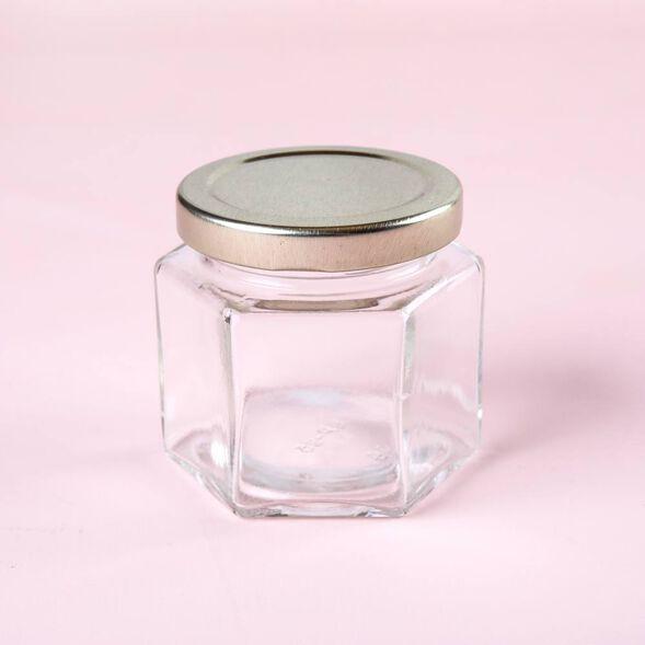 4 oz Hexagon Jar