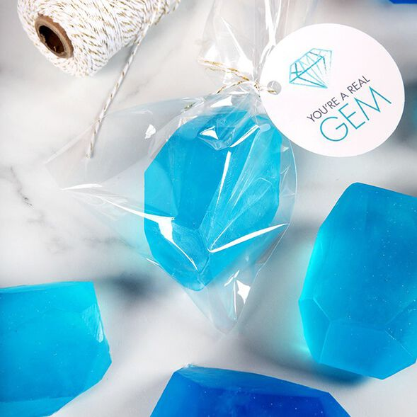 Alpine Frost Crystal Soap Project