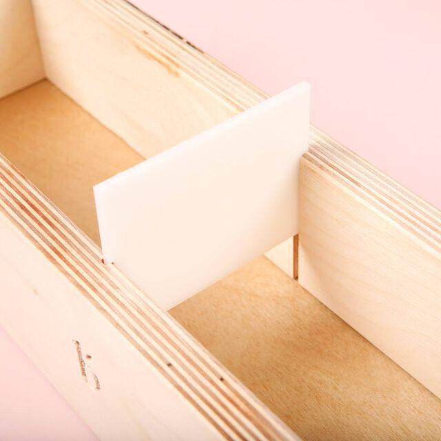 4 lb Wood Mold with Sliding Bottom - 1 Mold