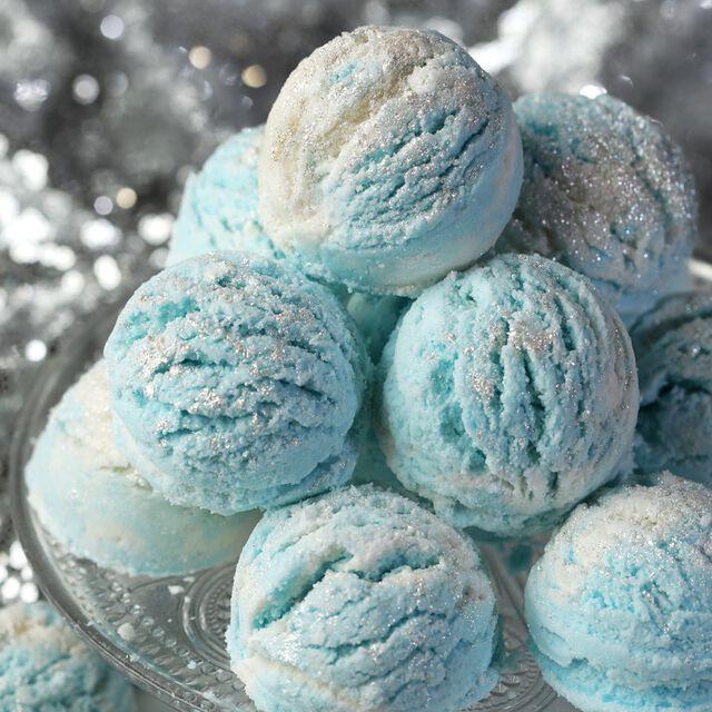 Sparkling Snowball Bath Truffle Project