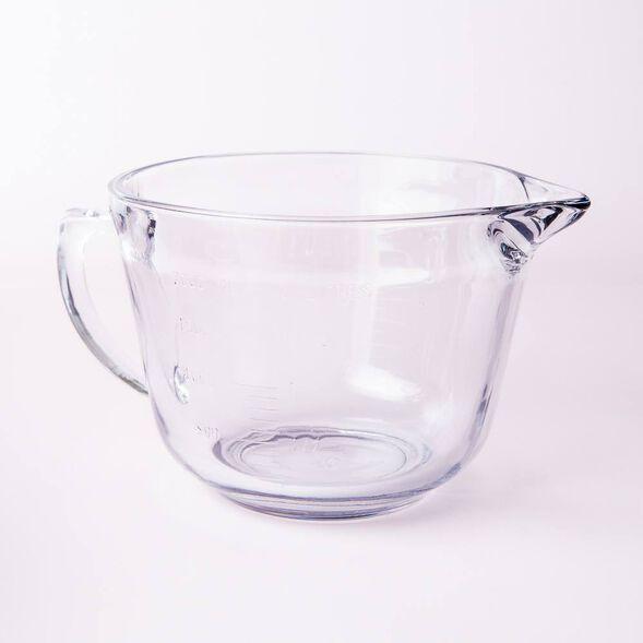 2 Quart Glass Mixing Bowl