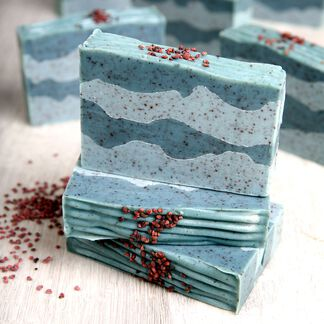 Blueberry Thyme Soap Project