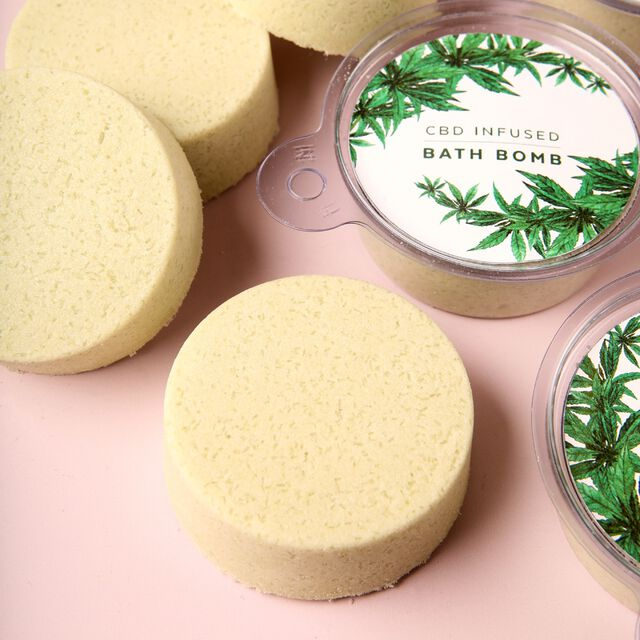 CBD Bath Bomb Project