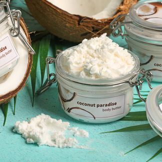 Coconut Whipped Body Butter Kit - Domestic