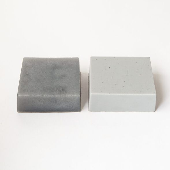 Pewter Silver Color Block - 1 Block