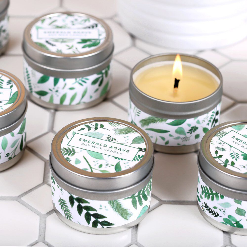 Emerald Agave Candle Kit | Bramble Berry