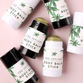 CBD Body Balm Stick Project
