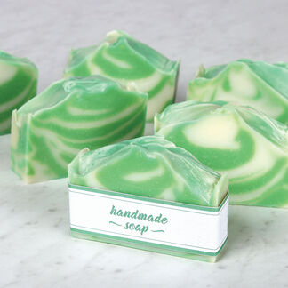 Layered Handmade Soap Project