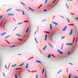 Sprinkle Donut Bath Bomb Project