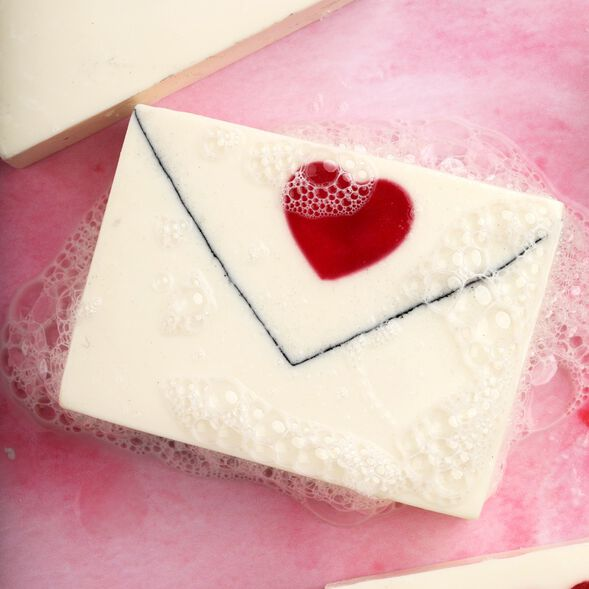 Love Letter Soap Project