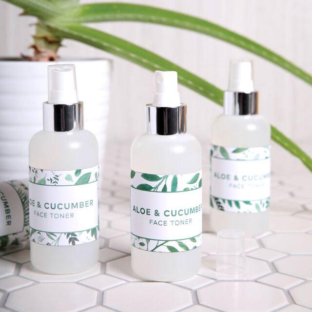 Aloe and Cucumber Face Toner Kit