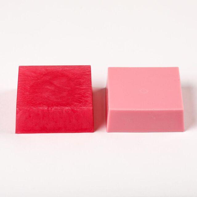 Rose Pearl Color Block - 1 Block