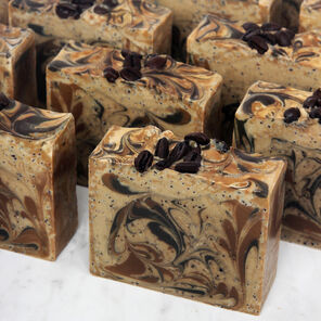 Coffee Cold Process Soap Project