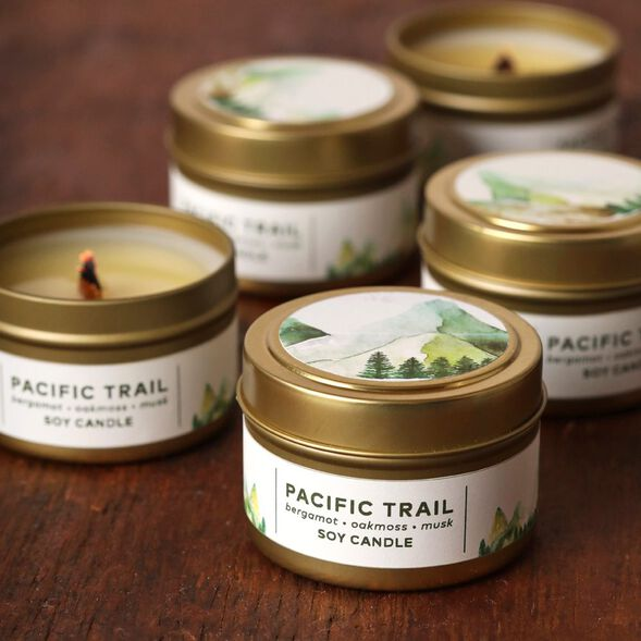 Pacific Trail Candle Project