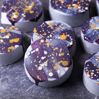 Galaxy Bath Bomb Kit