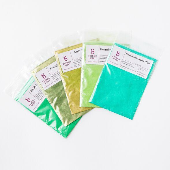 Green Mica Sampler Pack