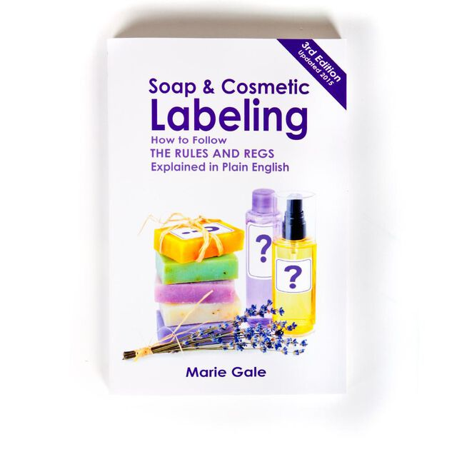 Soap And Cosmetic Labeling Book, 1 Book