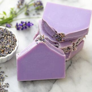 Natural Soap Kit - Lavender