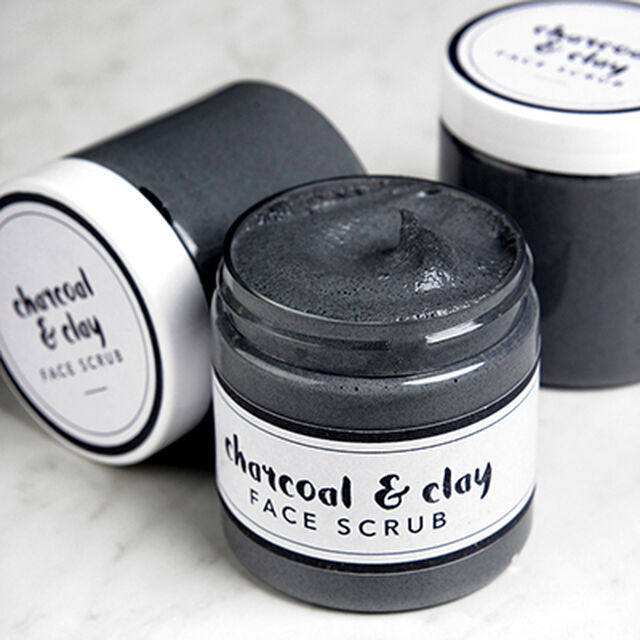 Cleansing Charcoal Facial Scrub Project