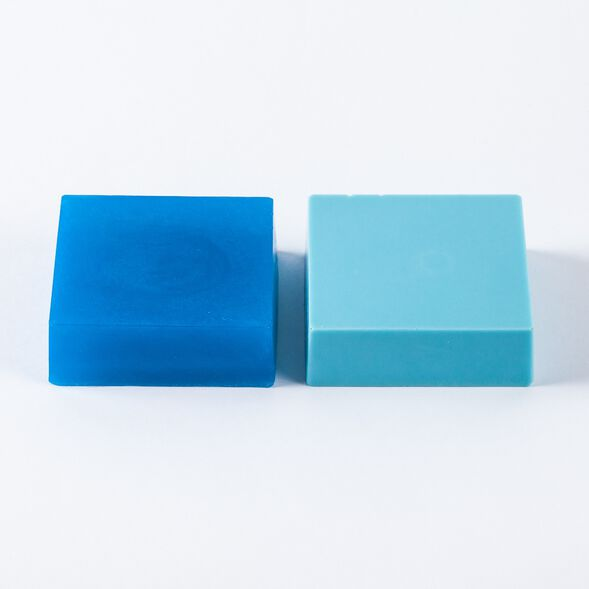 Caribbean Blue Color Block - 1 Block