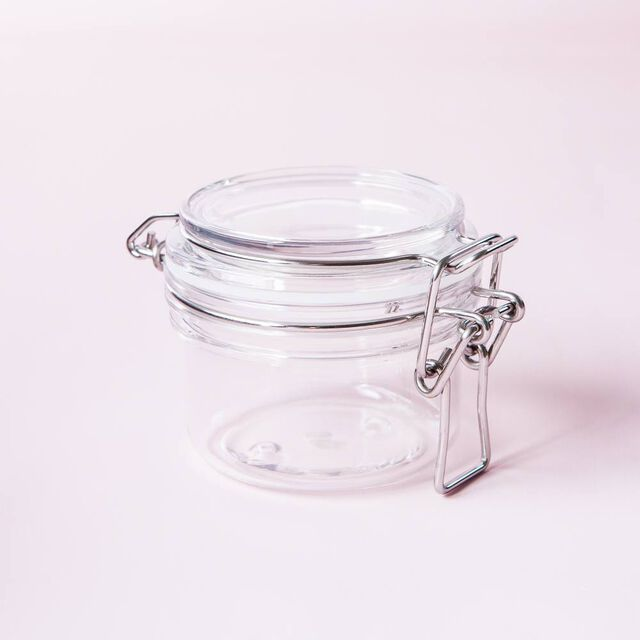 4 oz Plastic Bail Jar