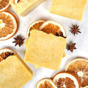 Orange Spice Hot Process Soap