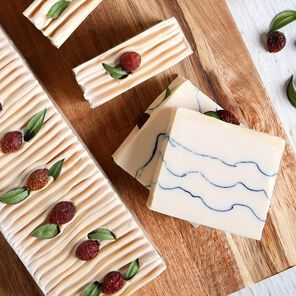 Lingonberry Spice Cold Process Soap Project