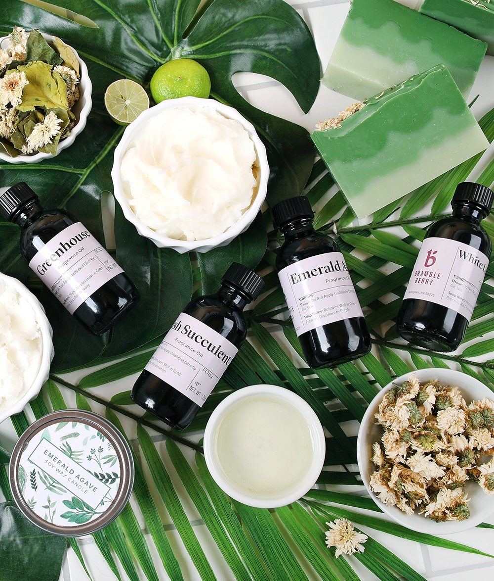 botanical garden collection from bramble berry