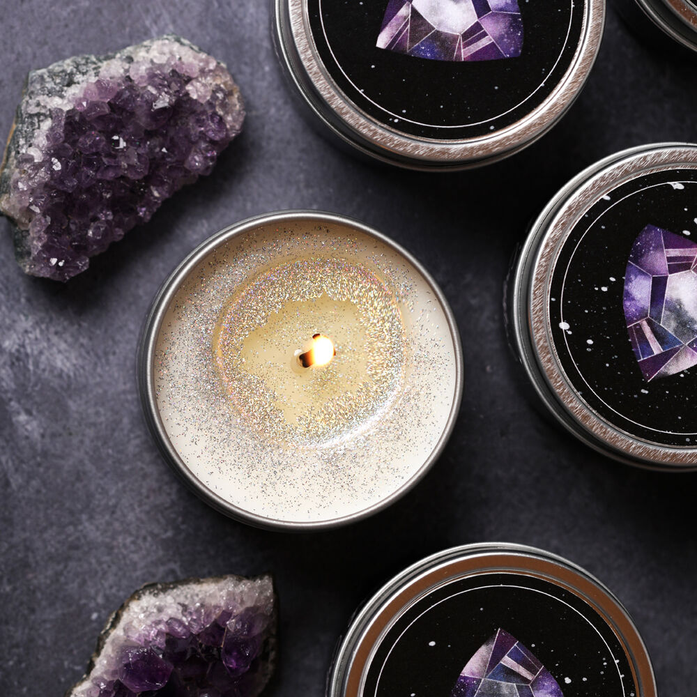 dark crystal candle making kit
