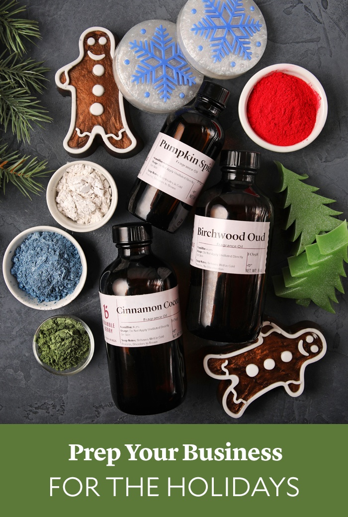 prepare your business for the holidays   Bramble Berry