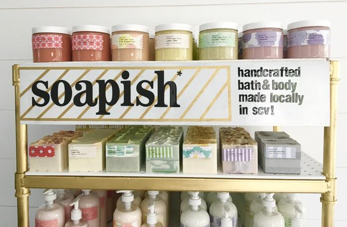 soap display by soapish