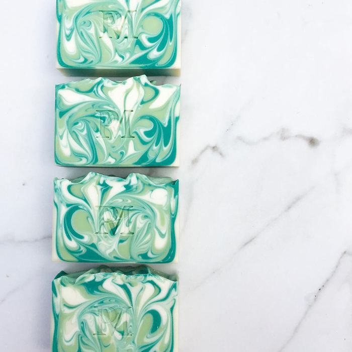 swirl soap by pottermade soap