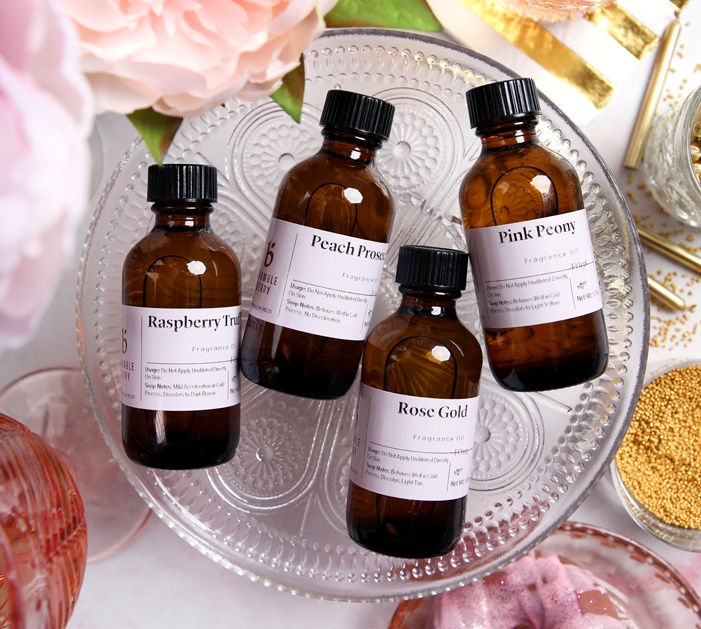 soiree fragrance collection   bramble berry