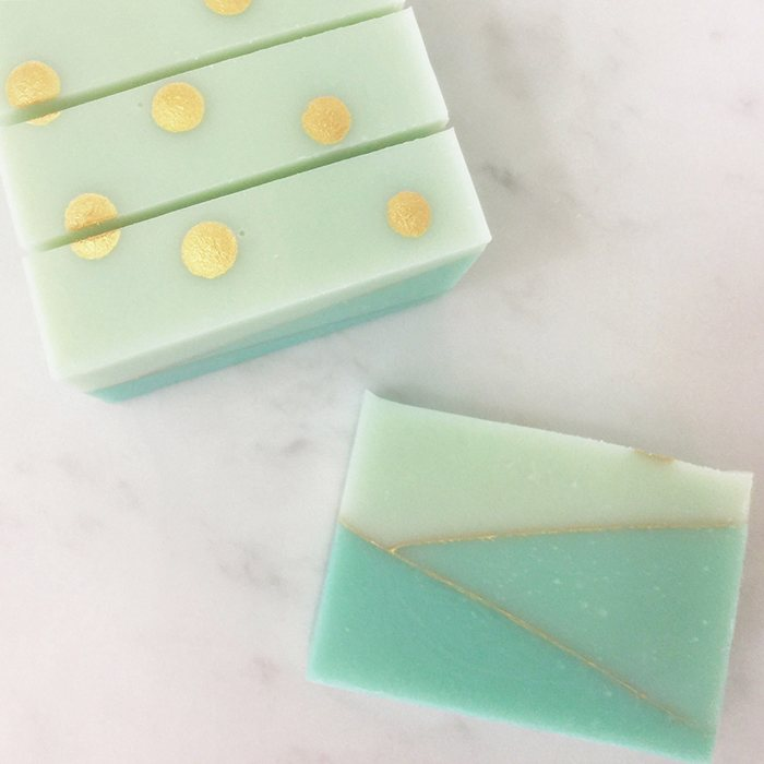 Cucumber garden soap by soaperie + co
