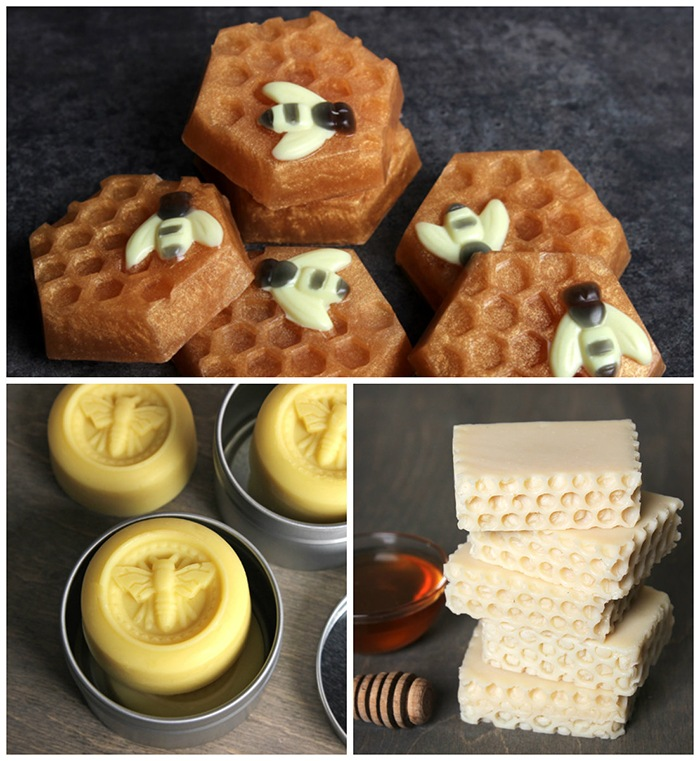 honey milk soap