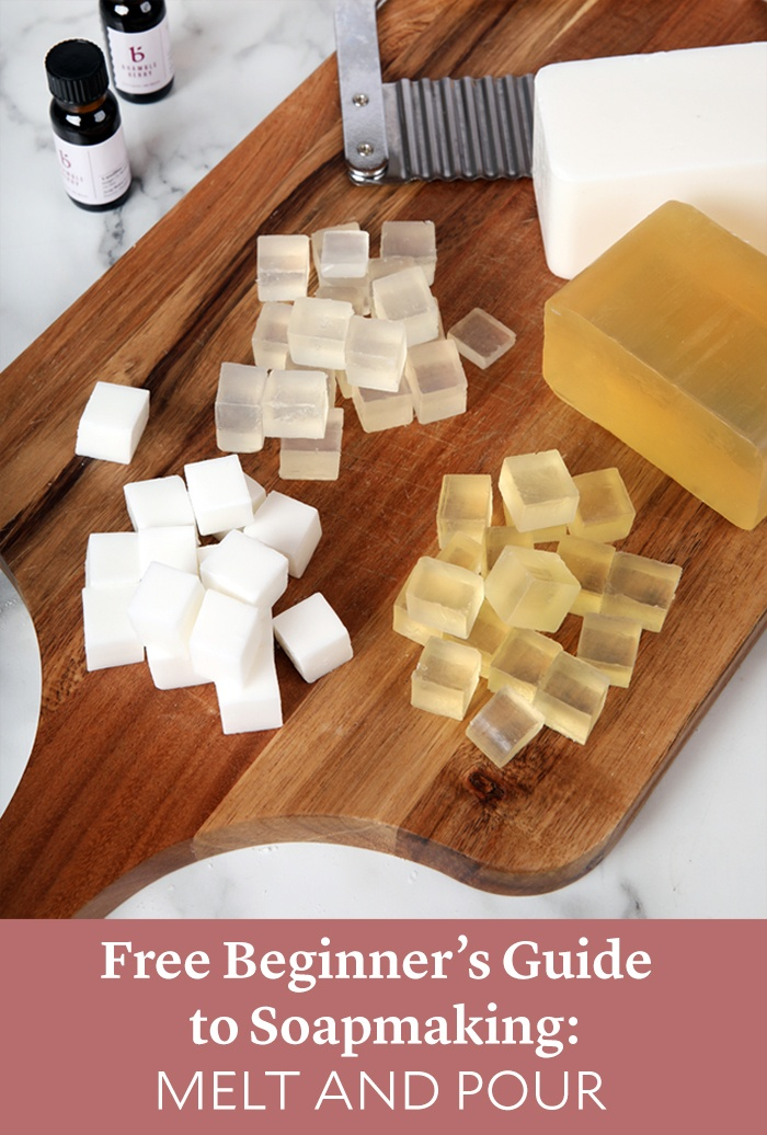 beginner's guide to melt and pour soap | bramble berry