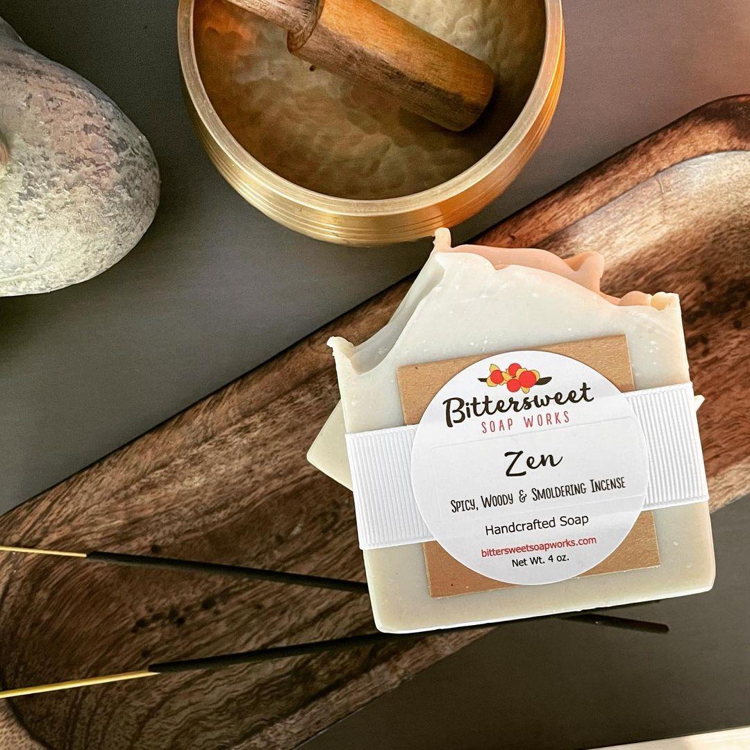 zen soap by bittersweet soap works
